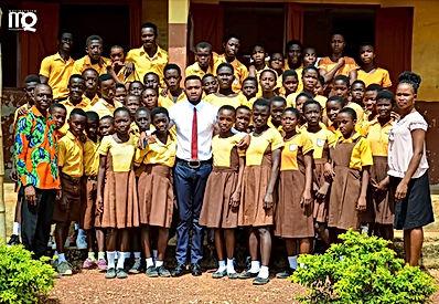 Ghana Ambassador Jones Amankwah Boateng