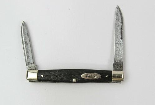 CASE XX 6204 2 BLADE FOLDING KNIFE