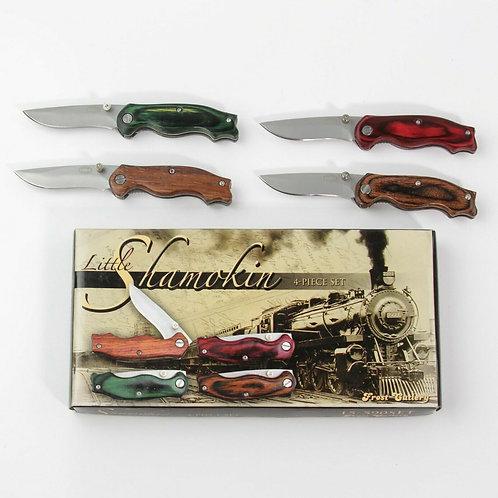 LITTLE SHAMOKIN 4-PIECE KNIFE SET 15-590