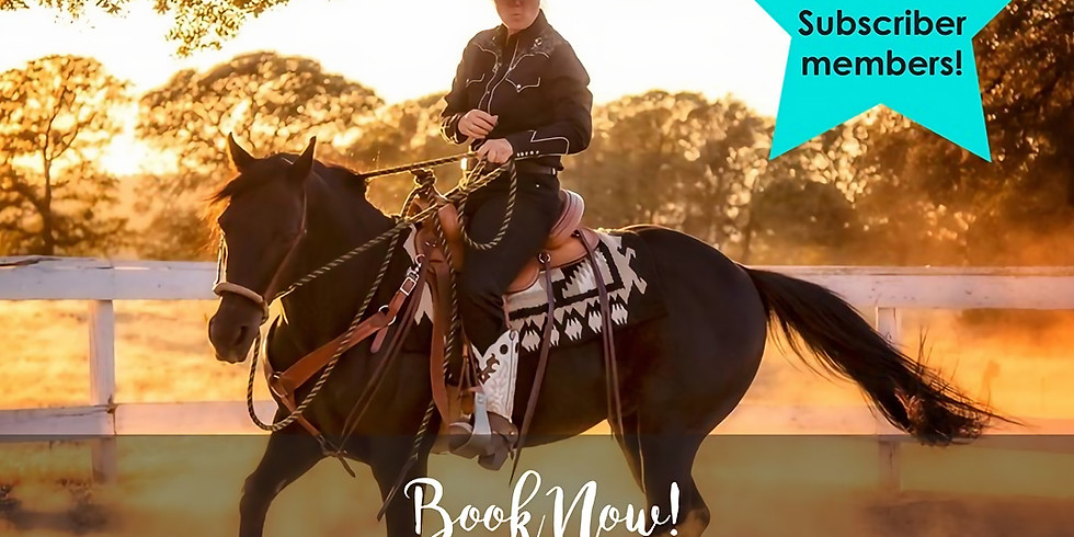 Horsemanship Clinic with Tanja Kraus   26th & 27th October