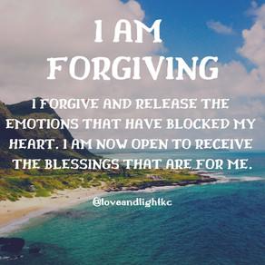 I AM FORGIVING