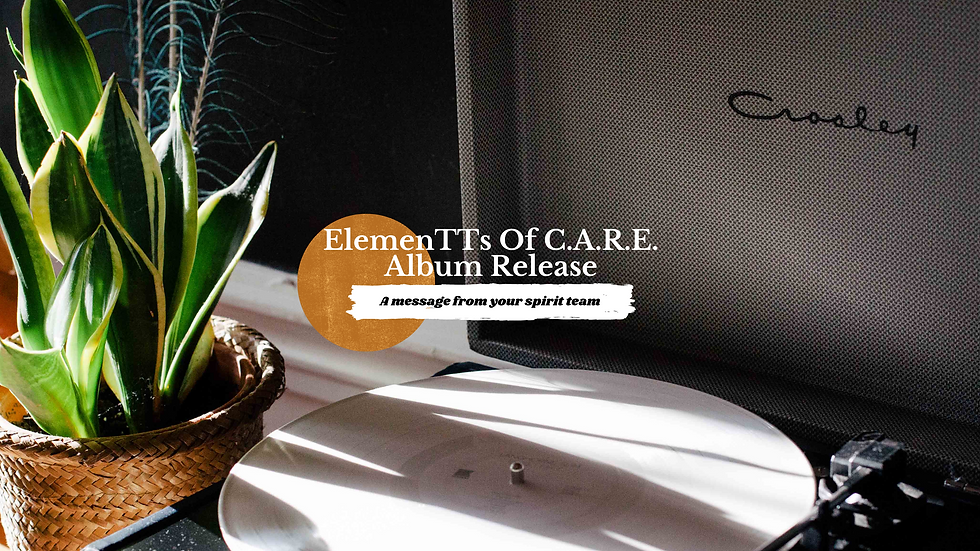 ElemenTTs Of C.A.R.E. Album Release & Candle Collection Sample Set