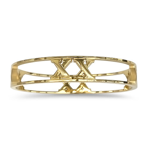 XX Wide Cut Out Bangle