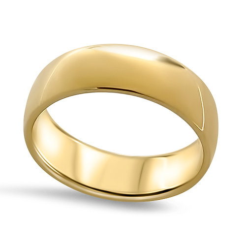 Rounded Stacking Ring