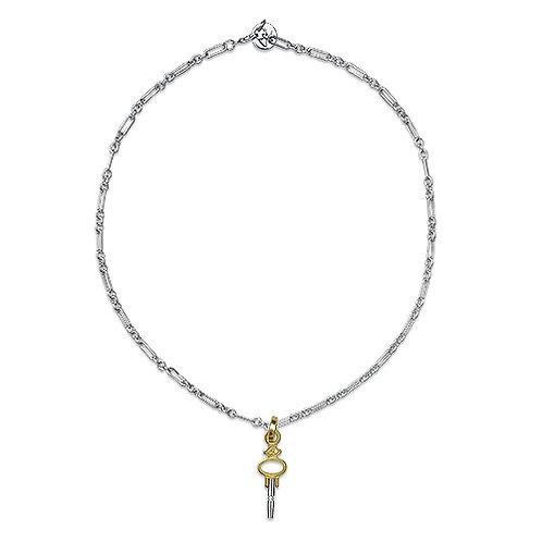 Vintage Watch Key Necklace