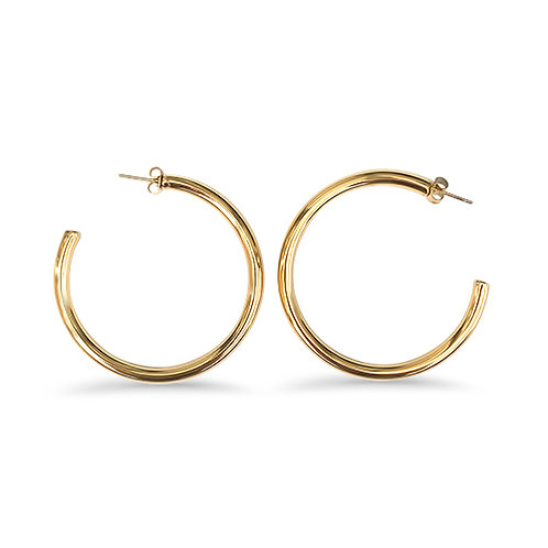 Hollow round hoops 1.5 inch