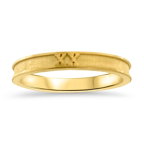 XX Narrow Ring