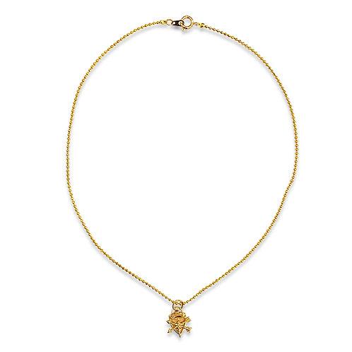 Petite pendant necklace
