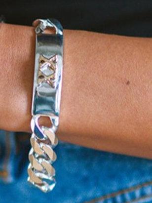 Sterling ID bracelet