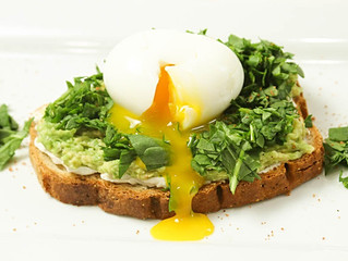 Soft Egg and Greens Toast