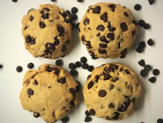 GF/DF Chocolate Chip Cake Cookies 1