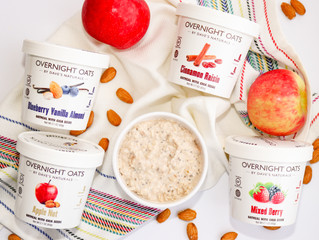 Dave's Gourmet's Overnight Oats