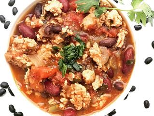 GF/DF Turkey and Bean Chili