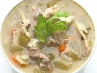 GF/DF Chicken Noodle Soup
