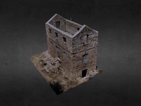Τρισδιάστατα μοντέλα κτιρίων με χρήση Drone