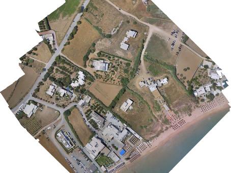"""Η ανάγκη για """"σημερινές"""" αεροφωτογραφίες από Drone"""