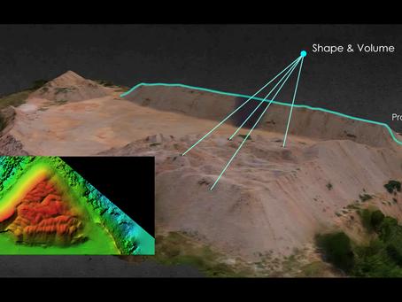 Μετρήσεις χωματουργικών με χρήση Drone