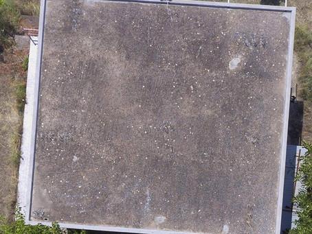 Επιθεώρηση στέγης ή οροφής με Drone
