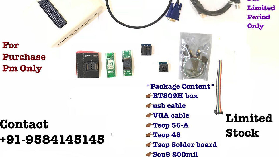 Rt809H Universal Bios Programmer