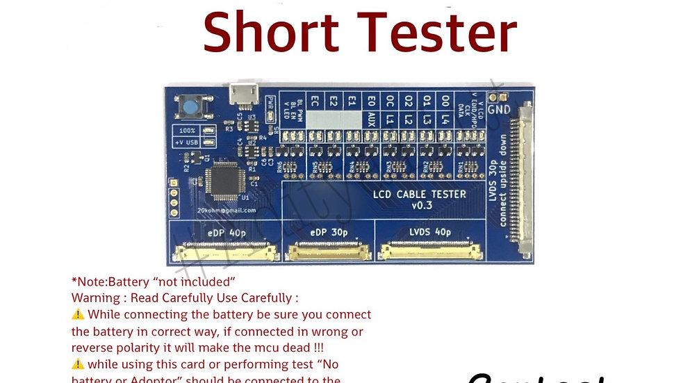 Led lcd Short tester