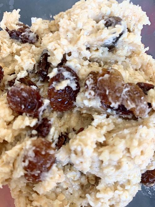Oatmeal and Raisin Dough