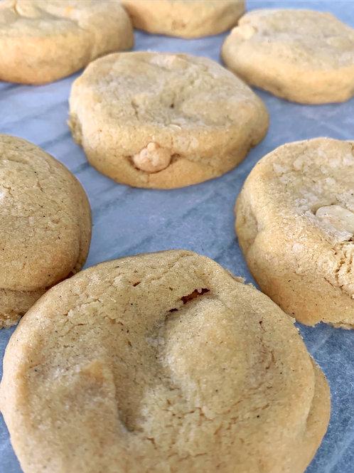 White Fudge Cookies