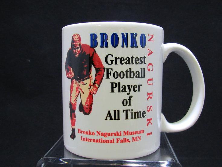 Bronko Nagurski Coffee Cup
