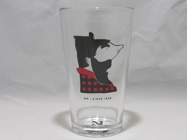 MN Paul Bunyan Glassware