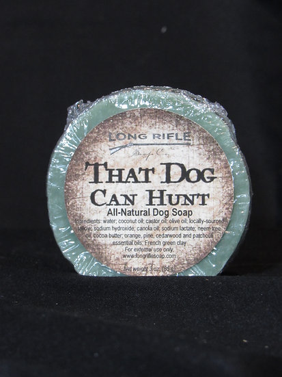 Long Rifle That Dog Can Hunt Soap
