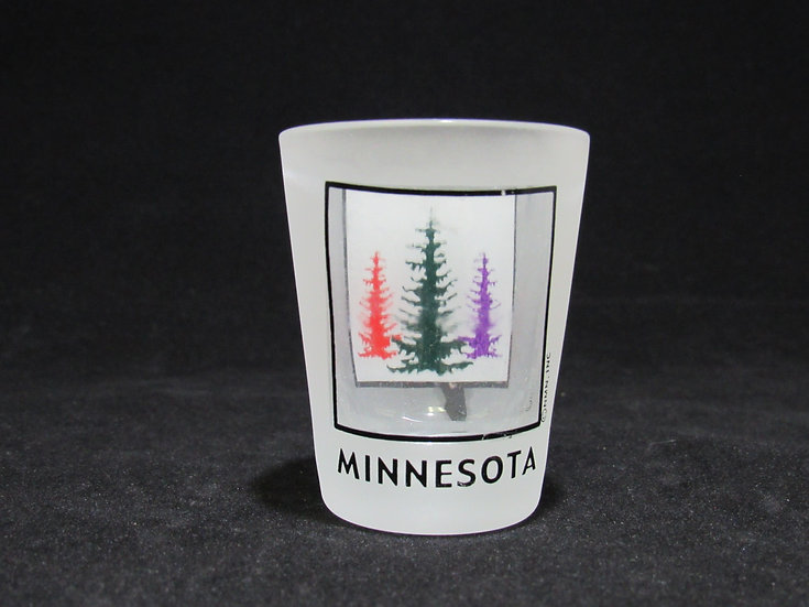 Frosted MN Shot Glass