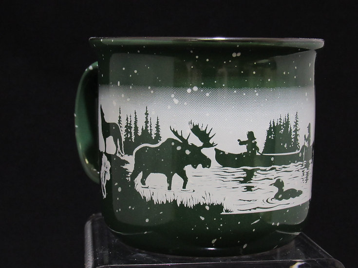 MN Campfire Mug with Animals