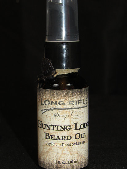 Long Rifle Beard Oil