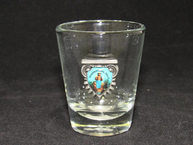 Smokey Shield Shot Glass