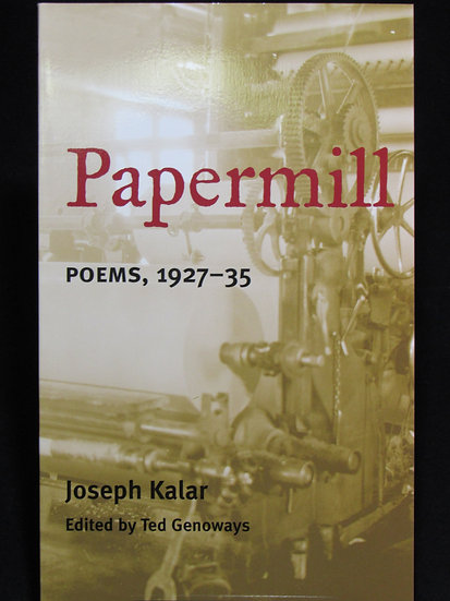 Papermill: Poems, 1927-34