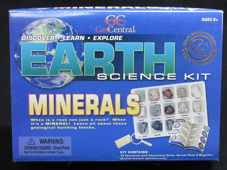 Earth Science Kit: Minerals