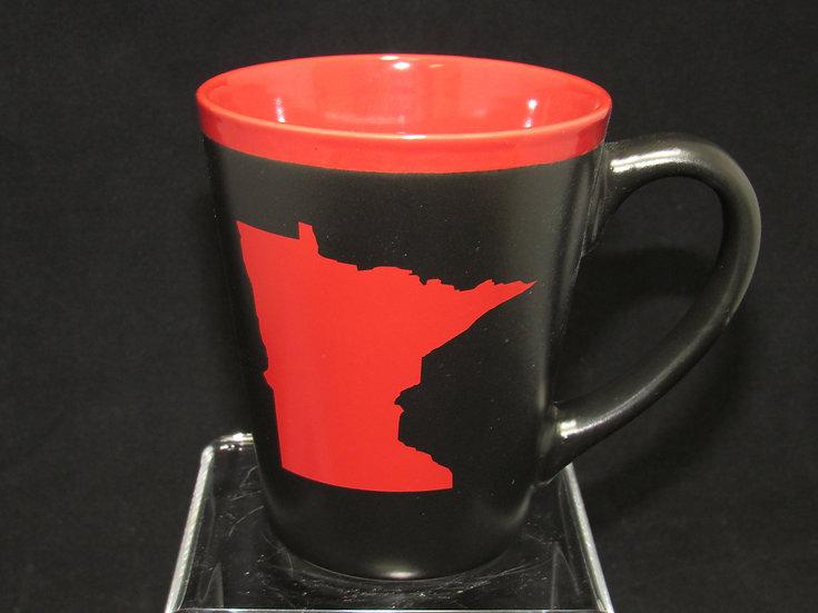 Black & Red MN Mug