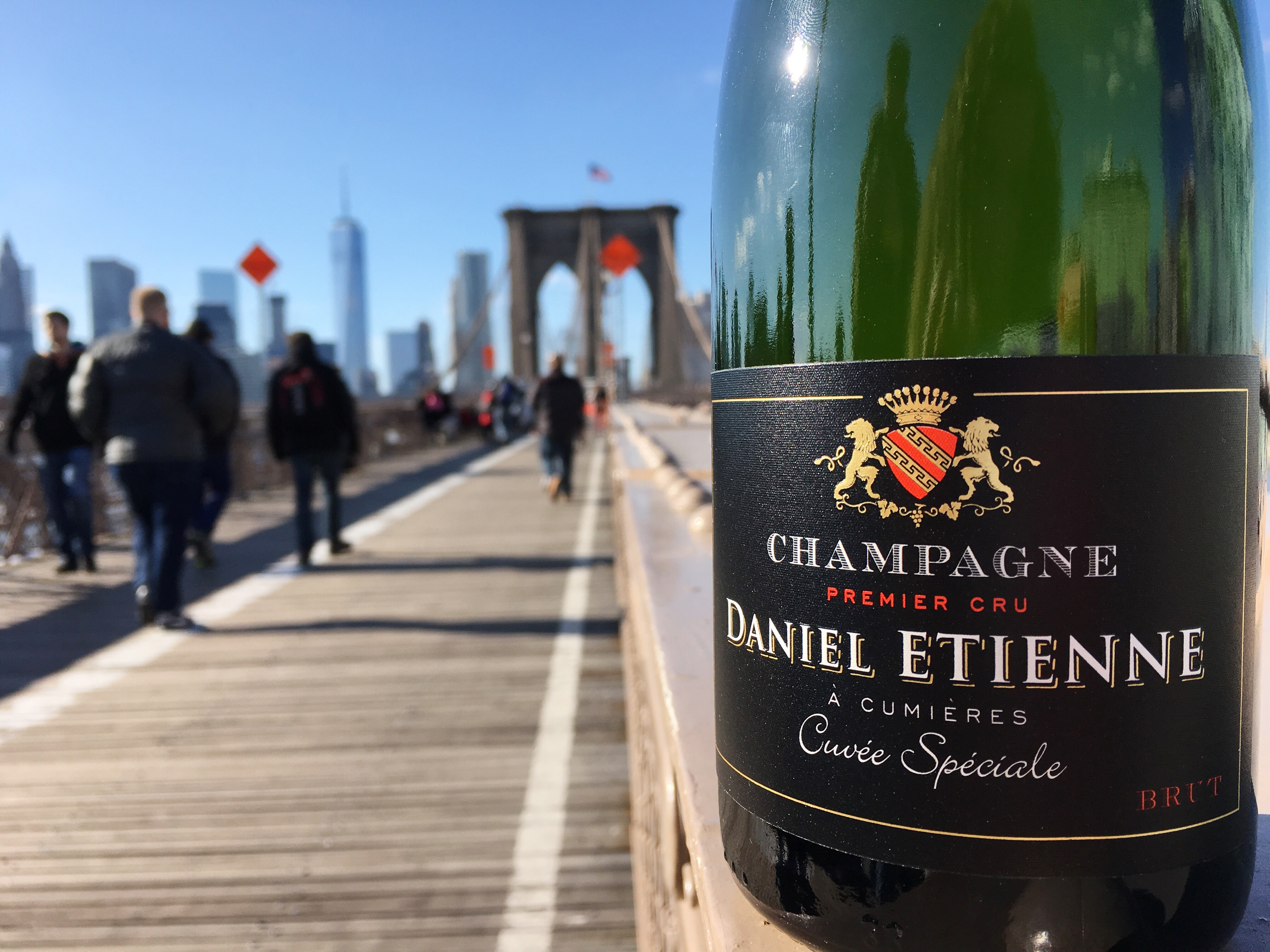 CHAMPAGNE ETIENNE IN NEW YORK