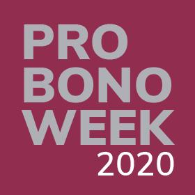 Pro Bono Week: 2-6 November