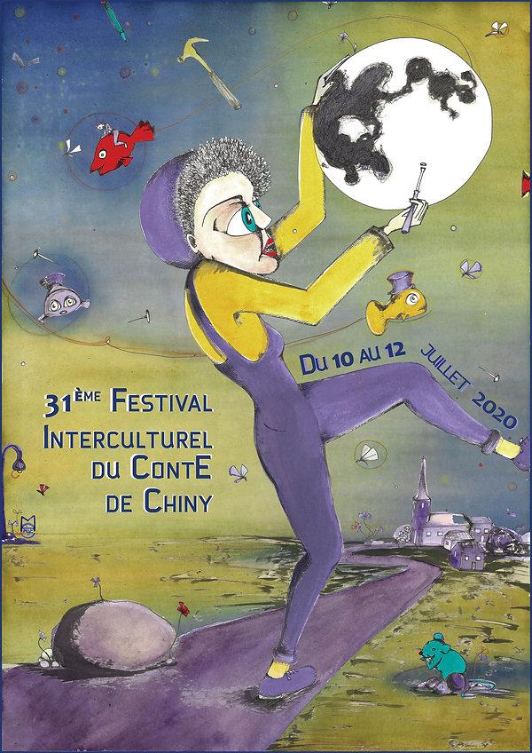 Affiche Festival du conte JET PETITS DES