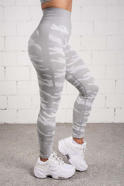 RAINBOW CAMO Dolphin Grey (LEGGINS)