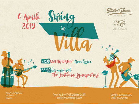 Swing in Villa