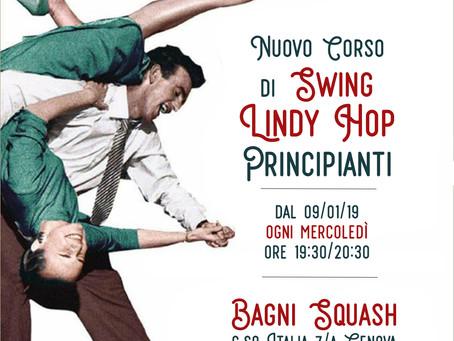 Nuovo Corso Swing Lindy Hop 2019!