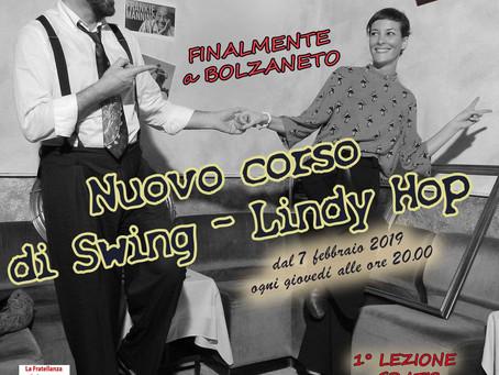 Nuovo Corso Lindy Hop a Genova!
