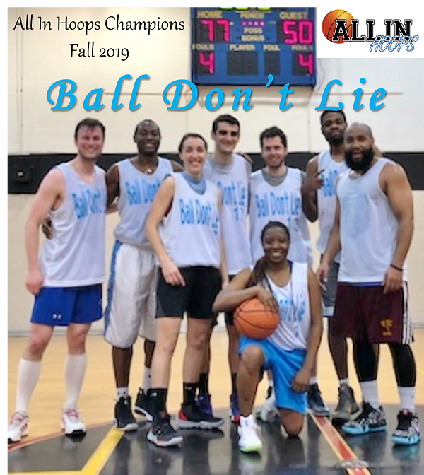 2019 Coed Fall Champs - Ball Don't Lie.p