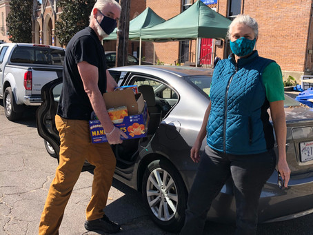 Spotlight on Broadmoor Food Pantry Delivery Drivers
