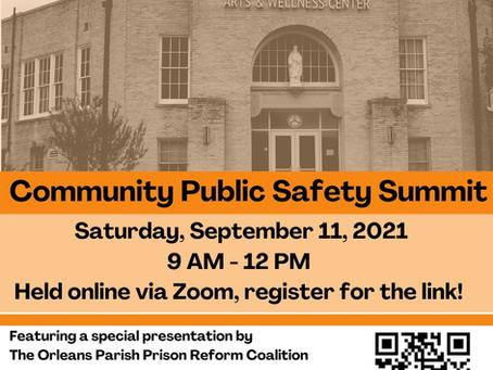 Broadmoor Community Public Safety Summit