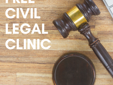 Free Civil Legal Clinic 12/4