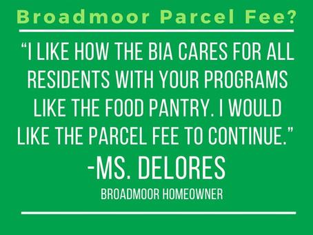 Neighbors Helping Neighbors: Broadmoor residents in support of the Broadmoor parcel fee