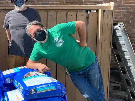 Spotlight on Broadmoor Food Pantry Packers & Receivers
