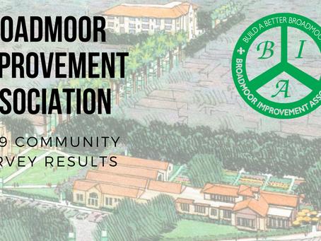 2019 Broadmoor Community Survey Results